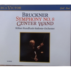 Bruckner: Symphony no. 8. Gunter Wand. 2 CD. RCA