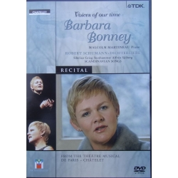 Voices of our time. Barbara Bonney. Scandinavian Songs. 1 DVD. TDK