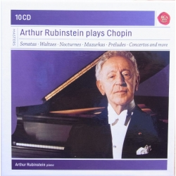 Arthur Rubinstein plays Chopin. 10 CD. RCA