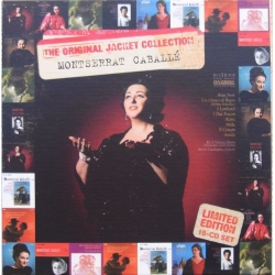 Montserrat Caballé Original Jacket Collection. 15 CD. RCA