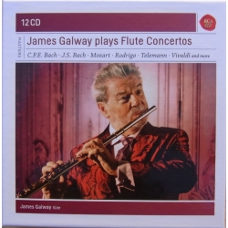 James Galway plays Flute concertos. 12 CD. RCA