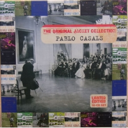 Pablo Casals Original Jacket Collection. 10 CD. Sony
