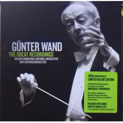 Günter Wand: The Great Recordings. 29 CD. RCA