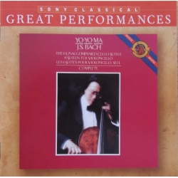 Bach: 6 suiter for solo cello. Yo Yo Ma. 2 CD. Sony