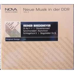 Bredemeyer. Neue musik in der DDR. Vol. 3. Stattskapelle Dresden. Otmar Suitner. 1 CD. Berlin Classics