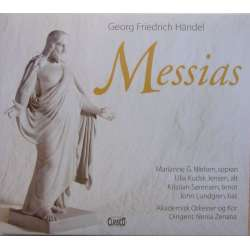 Händel: Messiah. Akademisk Choir and Orchestra being conducted by Nenia Zenana. 2 CD. Classico