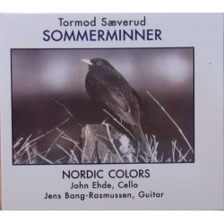 Tormod Sæverud: Sommerminner for cello og guitar. 1 cd. CDK 1098