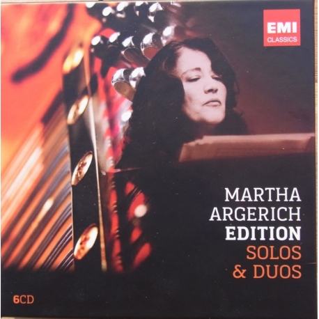 Martha Argerich Edition. Solo & Duos. 6 CD. EMI