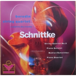 Schnittke: String Quartet no. 3. & Piano Quintet. Borodin String Quartet. 1 CD. Virgin
