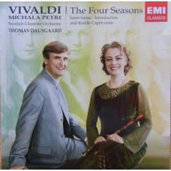 Vivaldi: The Four Seasons. Michala Petri, Thomas Dausgaard. Swedish Chamber Orchestra. 1 CD. EMI.