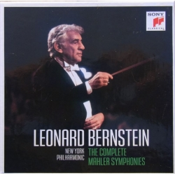 Mahler: The complete symphonies. Leonard Bernstein, New York Philharmonic. 12 cd. Sony.