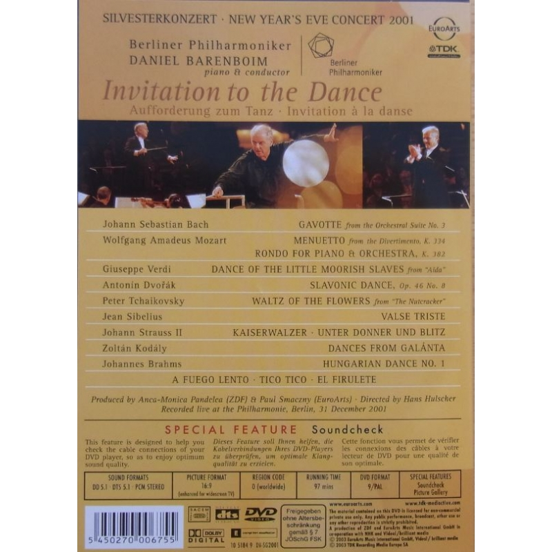 Invitation To The Dance Gala From Berlin DVD pladeklassikerendk