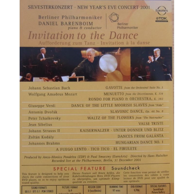 Invitation to the dance gala from berlin dvd plade klassikeren 1 dvd invitation to the dance gala from berlin barenboim berlin philharmonic 1 dvd stopboris Gallery