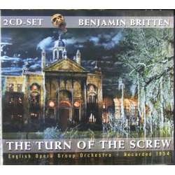 Britten: Turn of the screw, Peter Pears, Jeniffer Vyvyan. English Opera Group Orchestra, Benjamin Britten. 2 CD.
