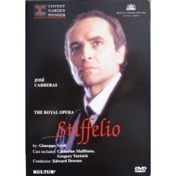 Verdi: Stiffelio. Carreras. Malfitano, Yurisich, Howell, Edward Downes, Covent Garden. 1 DVD.