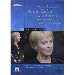 Voices of our time. Anne Sofie von Otter. A Tribute to Korngold. 1 DVD TDK.