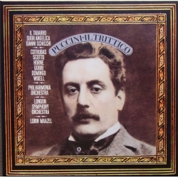 Puccini: Il Trittico. Cotrubas, Scotto, Horne, Domingo. Maazel. 3 CD. Sony