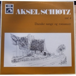 Aksel Schiøtz. Danish songs and Romances. Vol. 4. 1 LP EMI