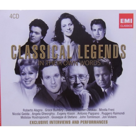 Classical Legends in their own Words. 4 CD. EMI