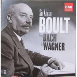 Sir Adrian Boult. From Bach to Wagner. 11 CD. EMI