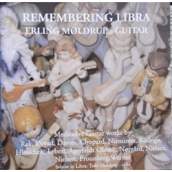 Remembering Libra. Erling Møldrup, Guitar. 1 cd. CDK 1099