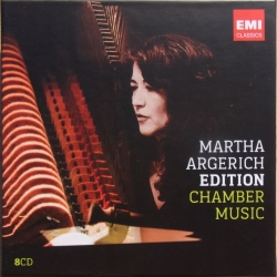 Martha Argerich Edition: Chamber Music. 8 CD. EMI