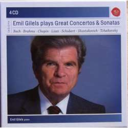 Emil Gilels plays Great Concertos & Sonatas. 4 CD. RCA