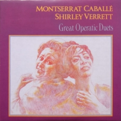 Montserrat Caballe & Shirley Verrett: Great Operatic Duets. 1 CD. RCA