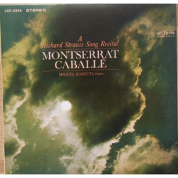 A Richard Strauss Song Recital. Montserrat Caballé. 1 CD. RCA