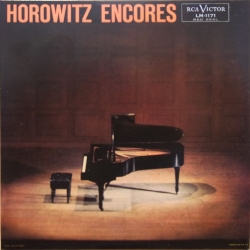 Horowitz: Encores. 1 CD. RCA