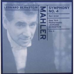 Mahler: Symphony no. 4. Leonard Bernstein. New York PO. 1 CD. Sony