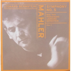 Mahler: Symphony no. 5. Leonard Bernstein, New York PO. 1 CD. Sony