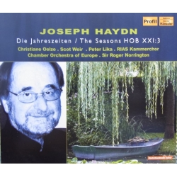 Haydn: The Seasons. Roger Norrington. Oelze, Weir, Lika. 2 CD. Hänssler