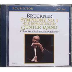 Bruckner: Symphony no. 4. Gunter Wand, Cologne Radio SO. 1 CD RCA.