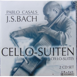 Bach: 6 Cello suiter. Pablo Casals. 2 CD. Membran