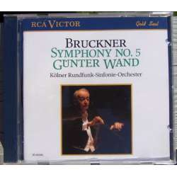Bruckner: Symphony nr. 5, Günter Wand. Cologne Radio Orchestra. 1 CD. RCA