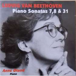 Beethoven: Piano Sonatas nos. 7, 8. & 31. Anne Øland. 1 CD Classico. New Copy