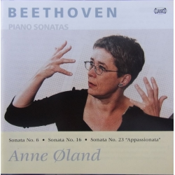 Beethoven: Piano Sonatas nos. 6, 16, & 23. Anne Øland. 1 CD Classico cd 356. New Copy.