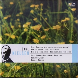 Nielsen: Flute Concerto. + Pan and Syrinx. Rune Most, D. Bostock. 1 CD. Classico