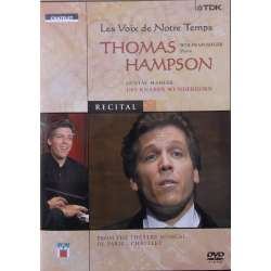 Voices of Our Time. Thomas Hampson. Mahler: Das Knaben Wunderhorn. 1 DVD. TDK