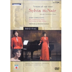 Voices of our Time. Sylvia McNair. French and Spanish Songs. 1 DVD TDK