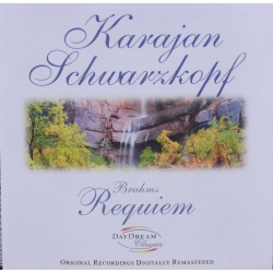 Brahms: German Requiem. Schwarzkopf, Hotter. Karajan. 1 CD.