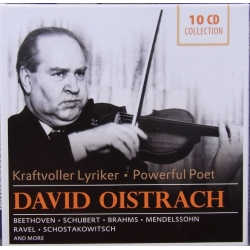 David Oistrakh plays great Violin Concertos. 10 CD. New Copy