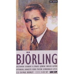 Jussi Björling. The Swedish Caruso. 4 CD. + 20 pages Booklet.