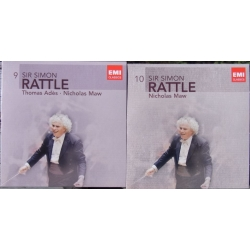 Ades, Thomas: Asyla. & Maw: Odyssey. Simon Rattle. Birmingham SO. 2 CD. EMI