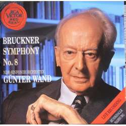 Bruckner: Symfoni nr. 8. NDR SO. Gunter Wand. 2 CD. RCA