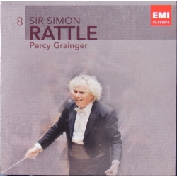 Grainger: Orkestermusik. Simon Rattle, City of Birmingham Symphony Orchestra. 1 CD. EMI