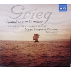 Grieg: Symphony in C. Bjarte Engeset, Malmø SO. 1 CD. Naxos