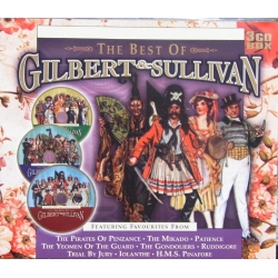 Gilbert & Sullivan. The Best of. 3 CD. Prism