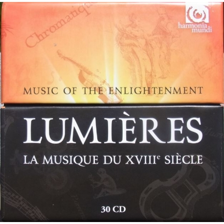 Lumieres. Music of Enlightenment. 30 CD. HM France